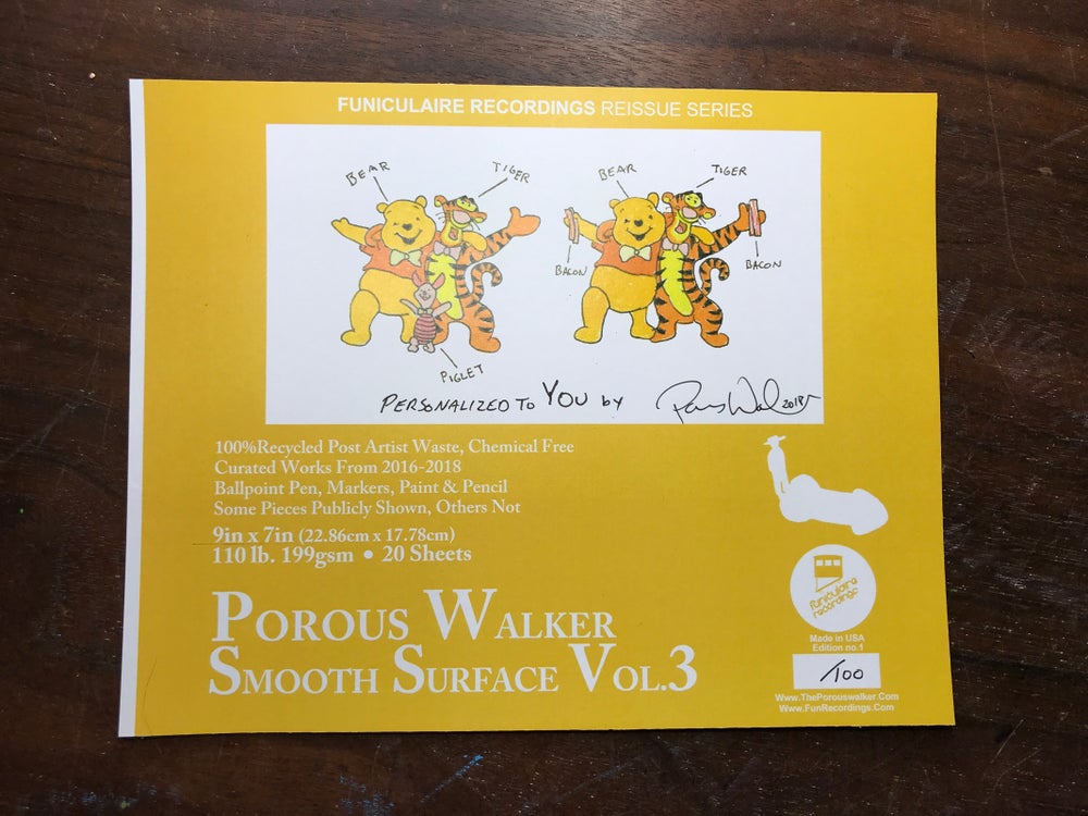 Image of Porous Walker Smooth Surface Vol. 3 (pre-order)