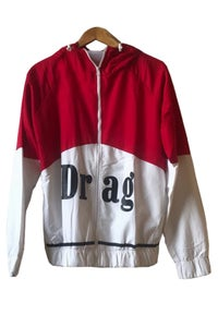 Image of DRAG - PIT CREW SPRAY JACKET <br> RED/WHITE