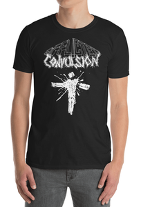 Image of AFFLICTED CONVULSION - BEYOND REDEMPTION T-SHIRT. LIMITED