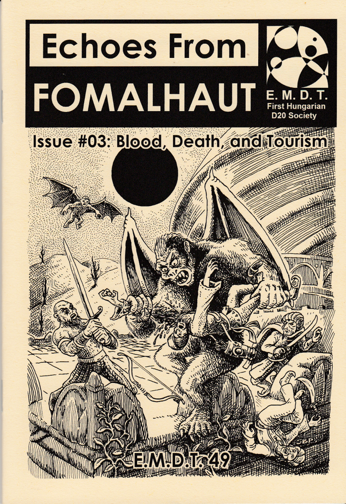 Image of Echoes From Fomalhaut #03: Blood, Death, and Tourism