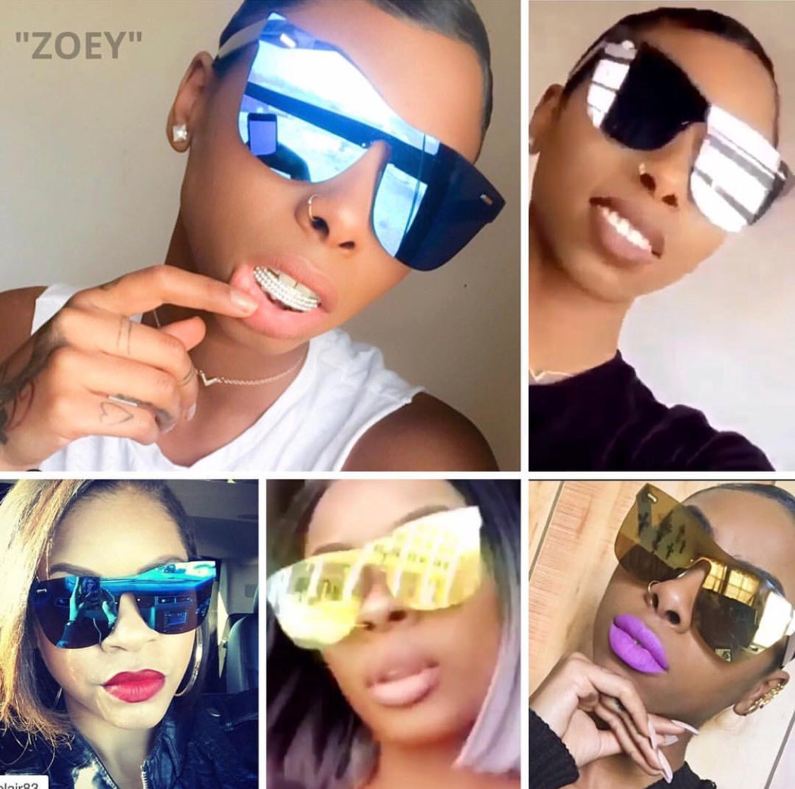 Image of ZOEY REFLECTORS (Designer Inspired)
