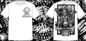 Image of Dungeonpunx X Spevna Shirt - White