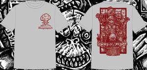Image of Dungeonpunx X Spevna Shirt - Athletic Grey
