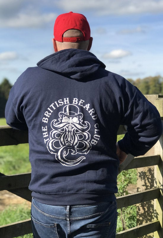 Image of The TBBClub Navy Blue Hoodie
