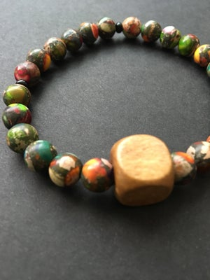 Image of Coloring Book Bracelet with Wood
