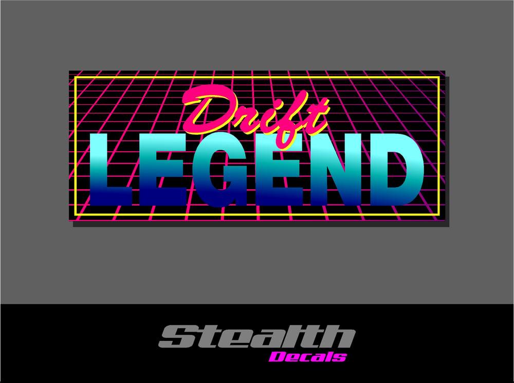 Image of Drift Legend Drift Slap sticker