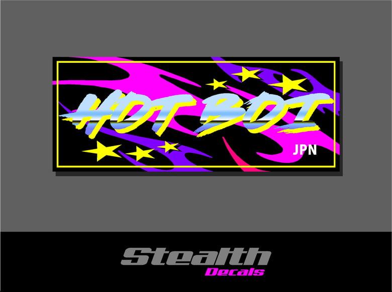Image of Hot Boi Drift Slap sticker