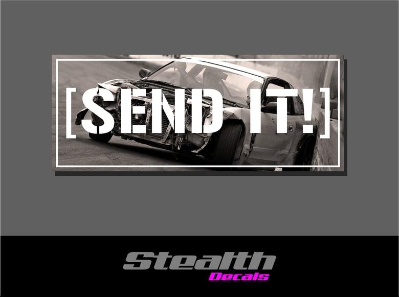 Image of Send It! Drift Slap sticker