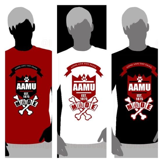 Image of AAMU School Daze Shirts - Black/White