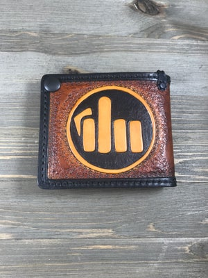 Image of Hand Tooled FTW Brawler Wallet