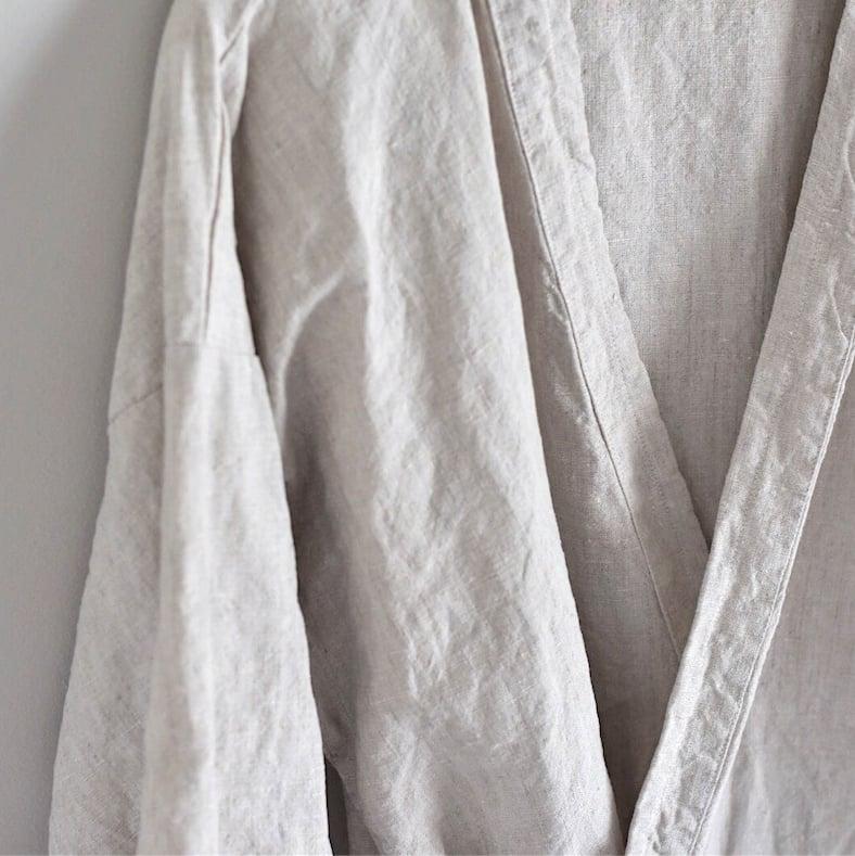 Image of Yoto - Linen Unisex Kimono
