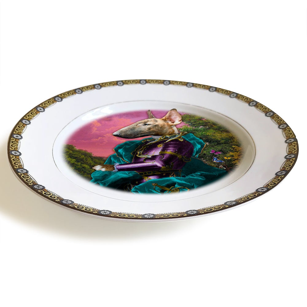 Image of Lord Tango - Limoges Porcelain Plate - #0597