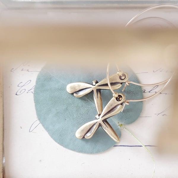 Image of Libellula - orecchini pendenti