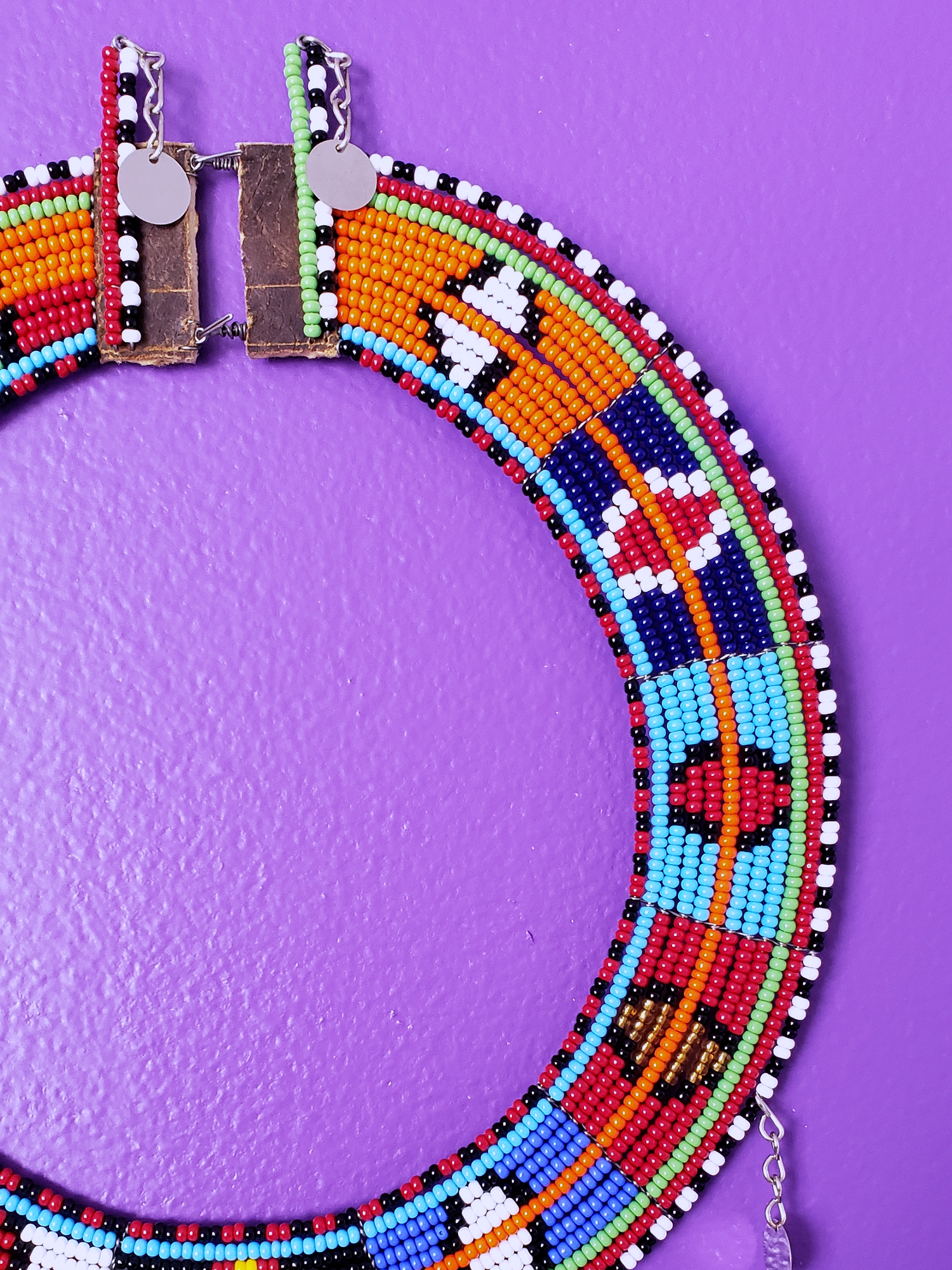 Image of Ngendo Deco Beaded Collar