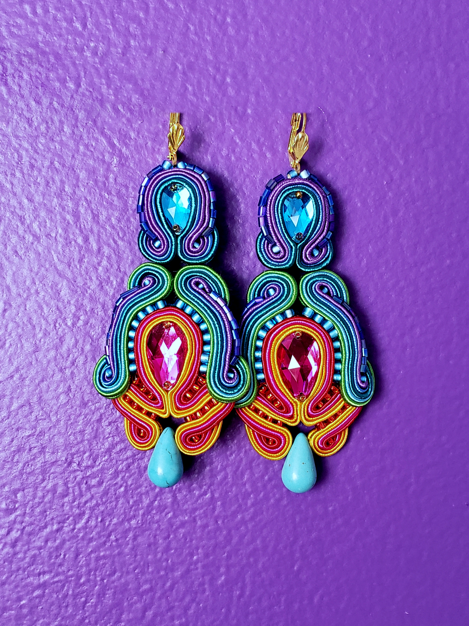 Image of Apolonia Sous Drop Earrings