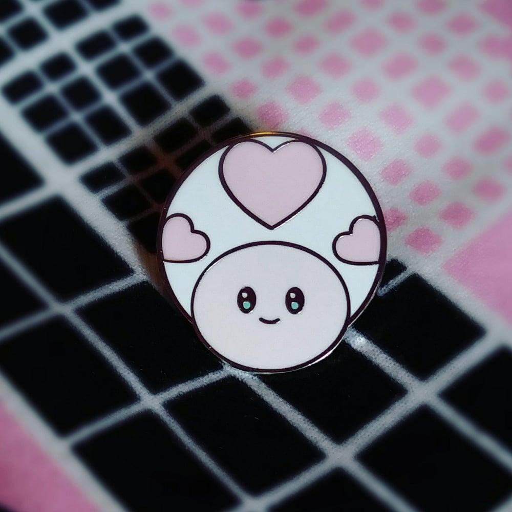 Image of Kawaii Toad Enamel Pin
