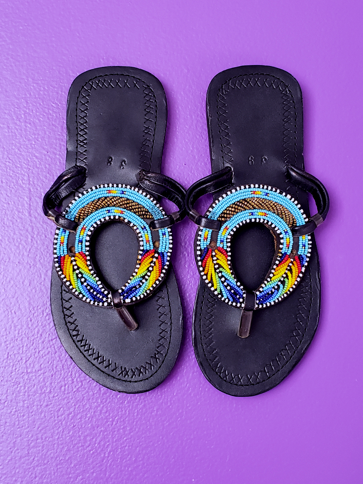 Image of Edfuu Hand Beaded Sandal