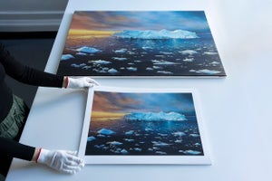 Image of Disko bay iceberg LARGE print