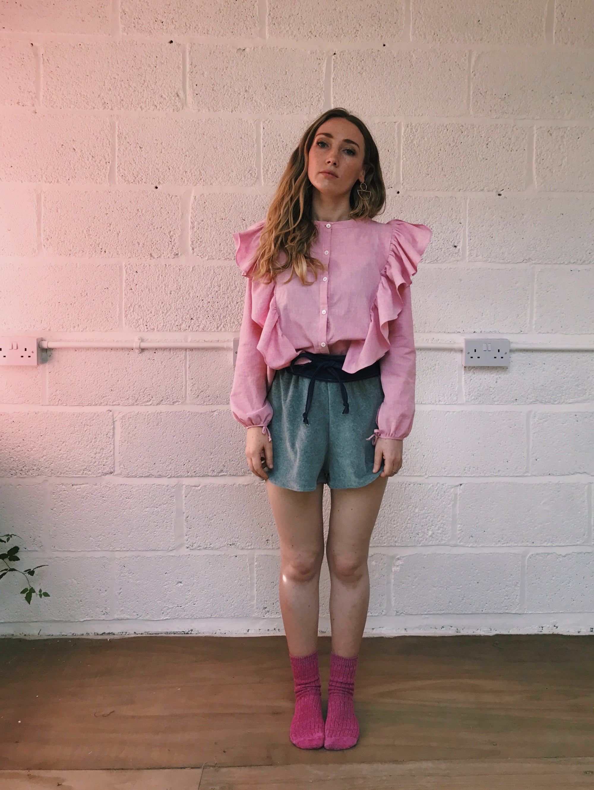 Image of Pink Frill Shirt