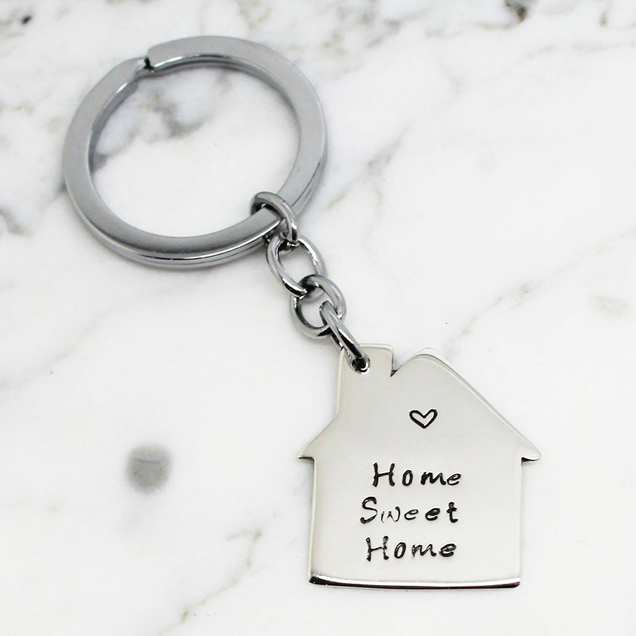 Image of Personalised Housewarming Key Ring