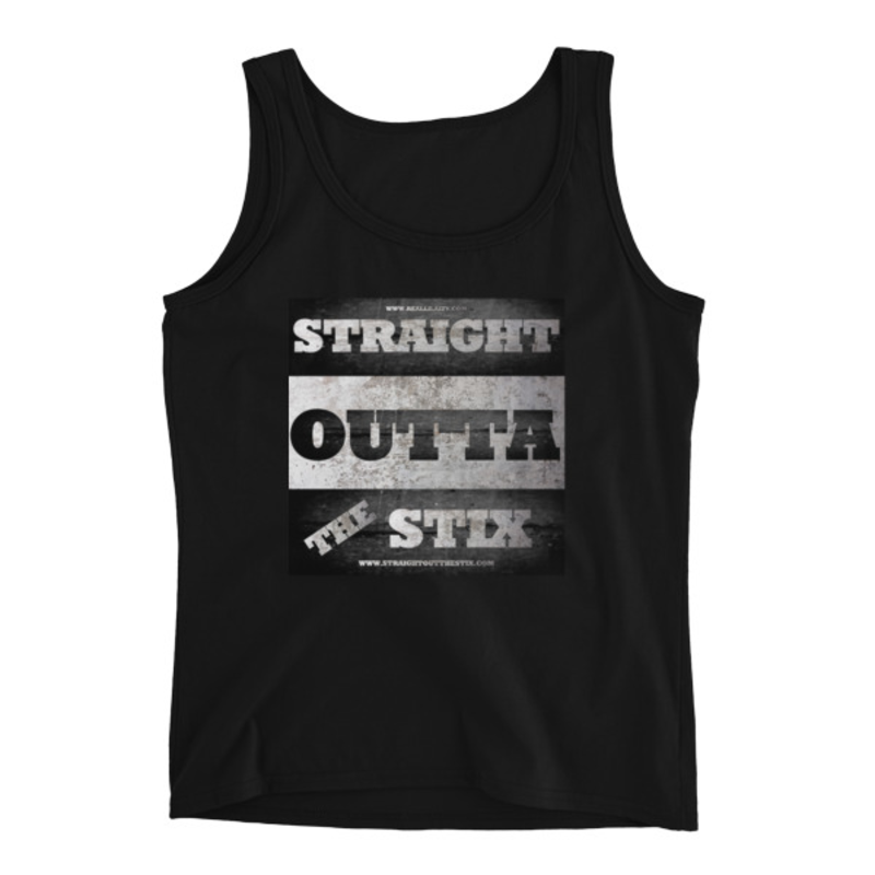 Image of STRAIGHT OUT THE STIX LADIES TANK TOP