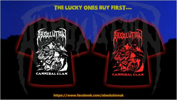Image of Cannibal Clan T-Shirt (White or Red)