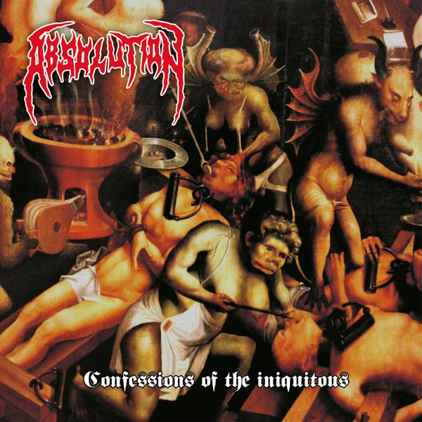 Image of Confessions of the Iniquitous Album