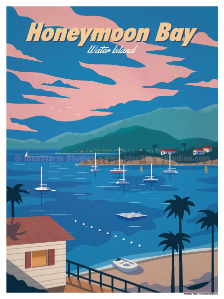 Image of Honeymoon Bay Poster