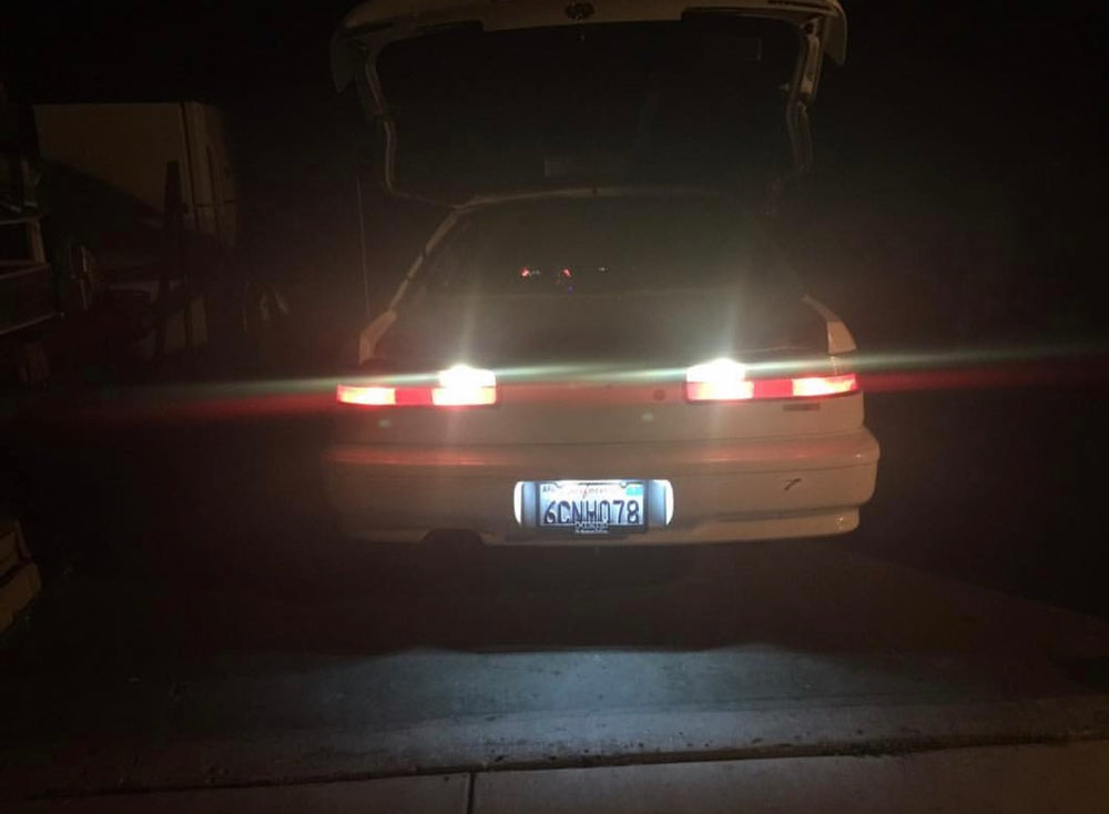 Acura Integra Back Up Lights License Plate Pc - Acura license plate