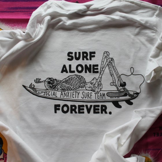 Image of SURF ALONE TEE