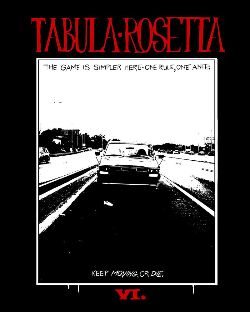 Image of Tabula Rosetta Issue 6 Print Version
