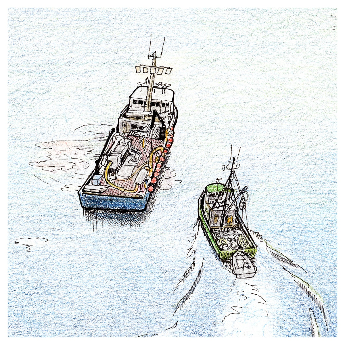"""Image of Tranquil Harbor 9"""" X 13"""""""