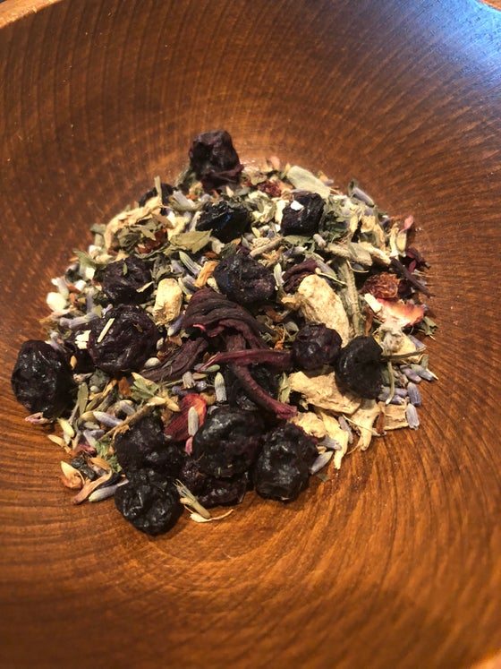 Image of Blueberry Sage Mint Tea