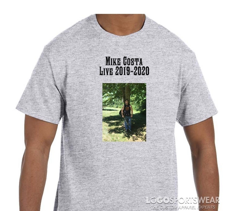 Image of Mike Costa 2019-2020 Tour T-Shirt