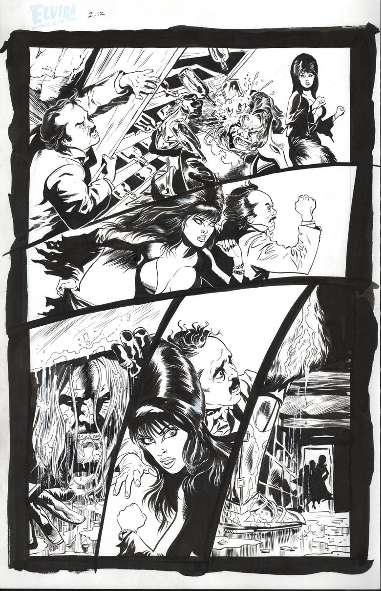 Image of Elvira #2 page 12
