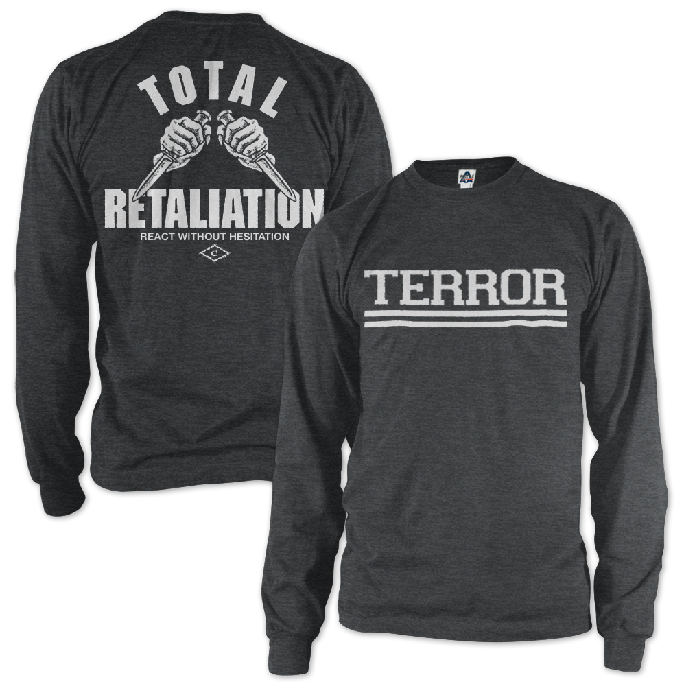 Image of TERROR x CABAL Total Retaliation Longsleeve