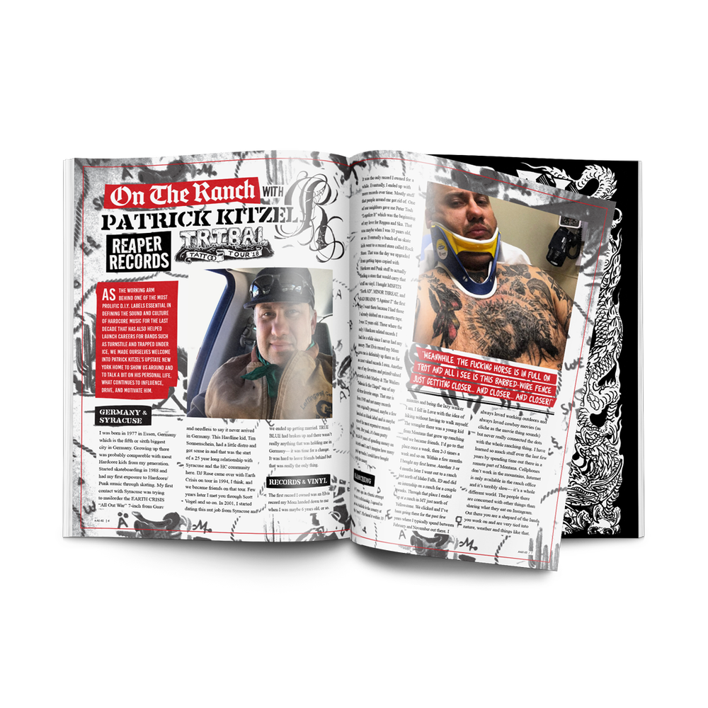Image of AN ATTITUDE EXHUMED - Issue 2