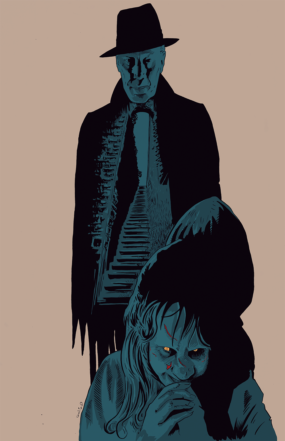 Image of The Exorcist by D.N.S