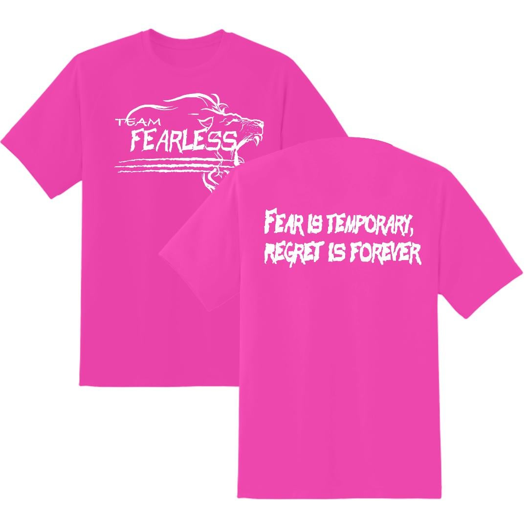 Image of TEAM FEARLESS NEON PINK