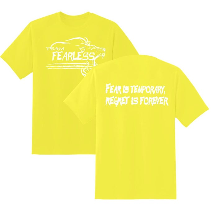 Image of TEAM FEARLESS NEON YELLOW