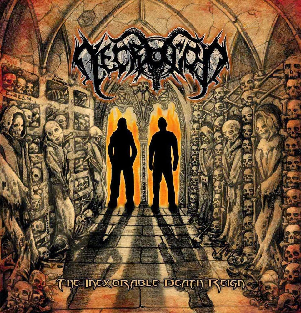 Image of Necrogod - The Inexorable Death Reign