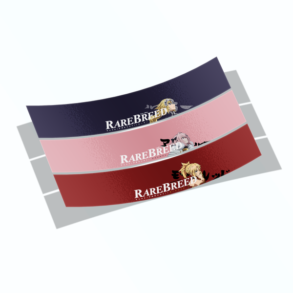 "Image of ""Fate Series"" RareBreed Eyelid Banners - 3 COLORWAYS"