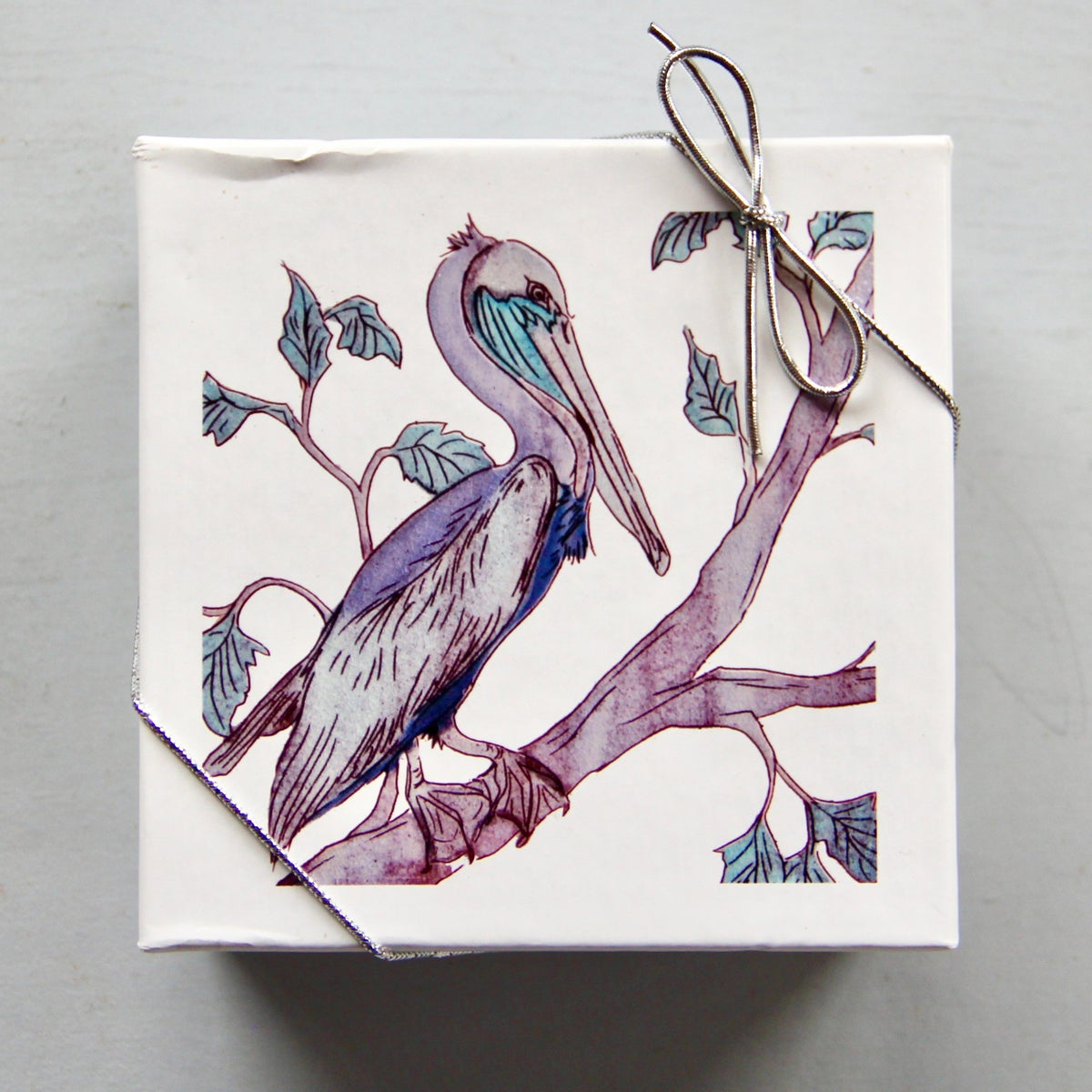 Image of Pelican Coasters (set of 4)