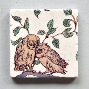 Image of Owl Love Coasters (set of 4)