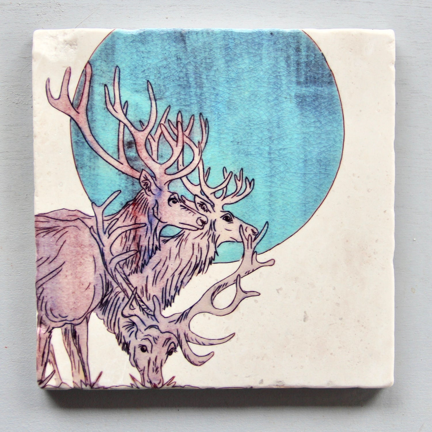 Image of Elk Moon Trivet