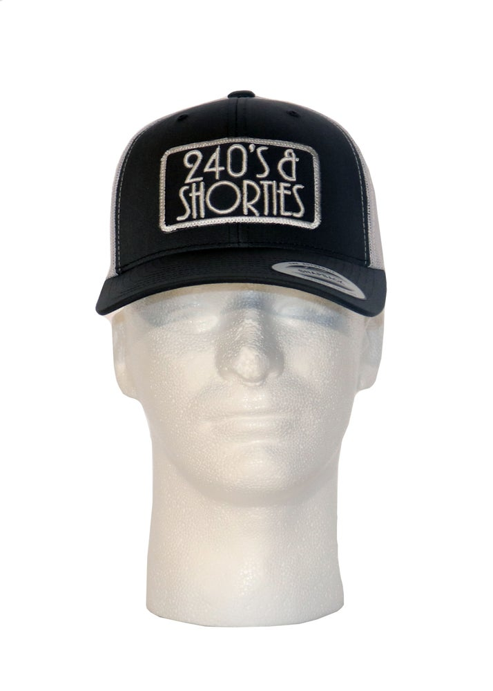 Image of Charcoal/White Trucker Patch Hat