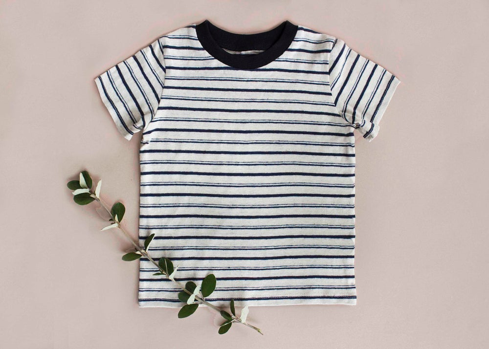Image of Hemp striped T-shirt
