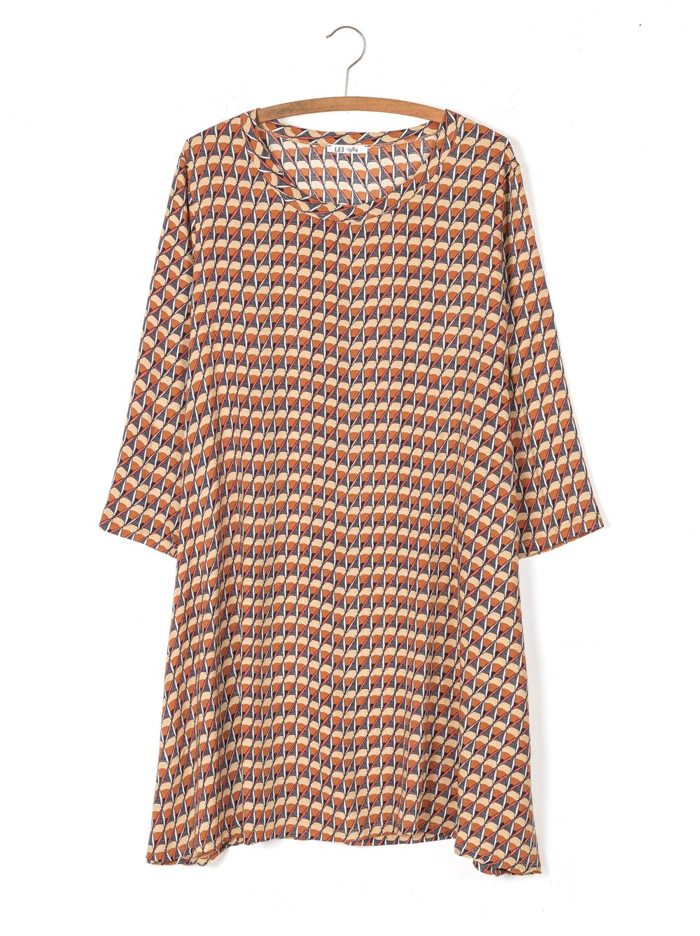 Image of Robe JOELLE imprimé wax 129€ -50%