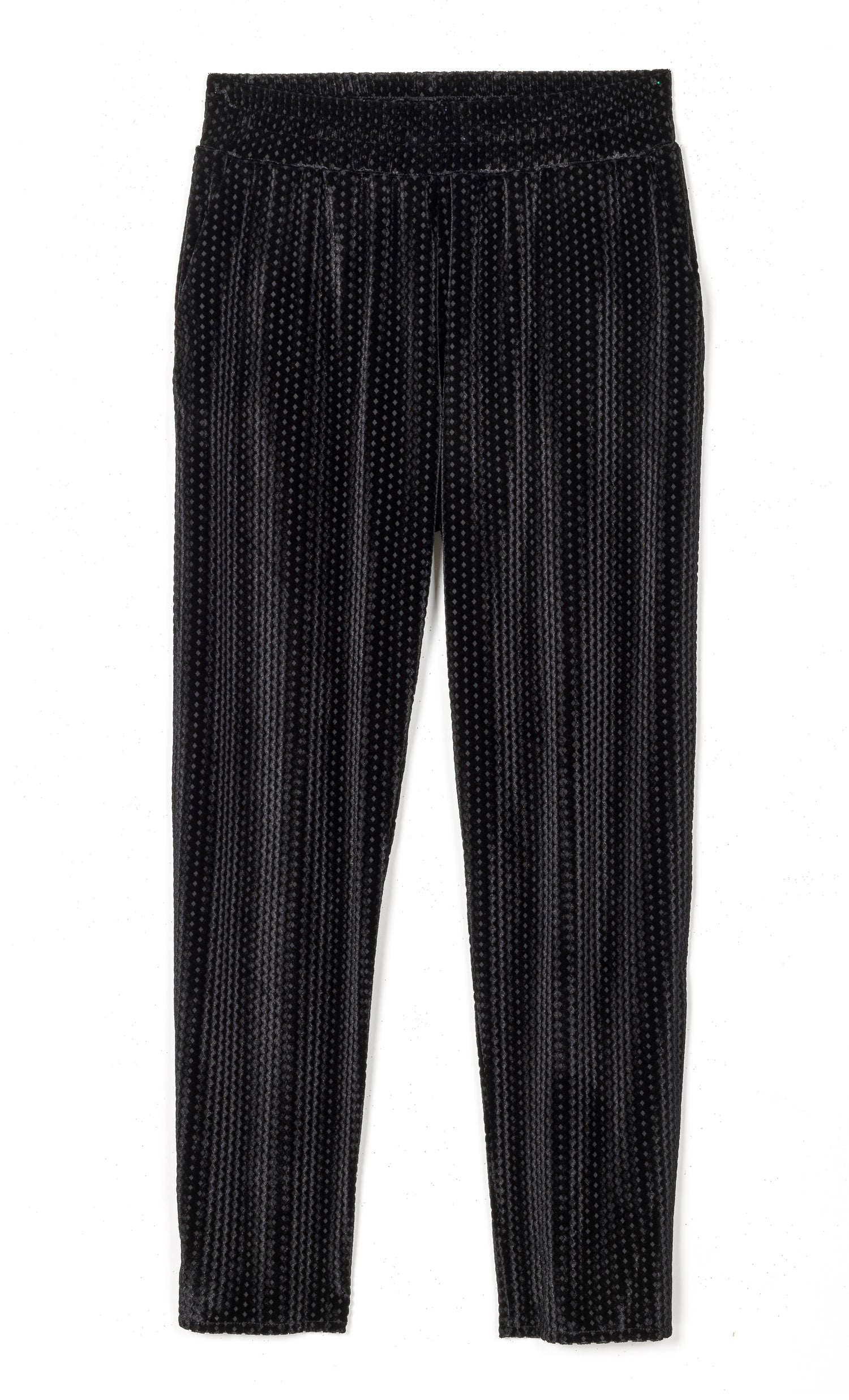 Image of Pantalon velours jacquard MAURICETTE 85€ -60%