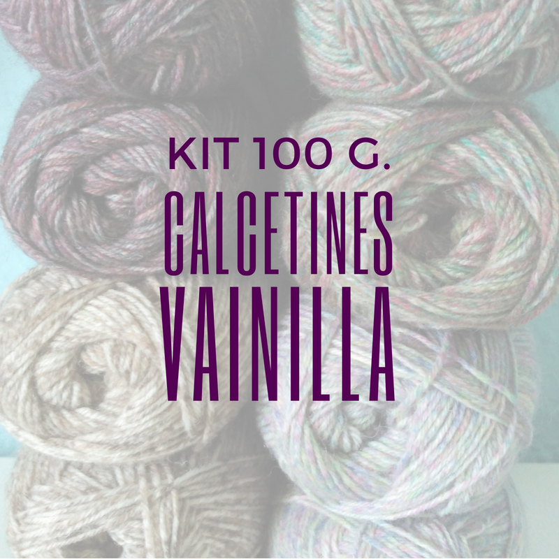 Image of KIT CALCETINES 100g.